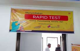 Jelang Libur Long Weekend, Rapid Test di Stasiun Diminta H-1