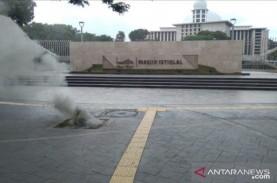 Kabel Listrik Bawah Tanah di Depan Masjid Istiqlal…