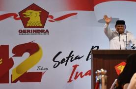 Survei Indikator: Elektabilitas Gerindra dan PKS Naik,…