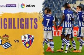 Hasil La Liga : Sociedad Kuasai Lagi Klasemen, Gusur…
