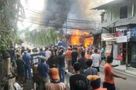 Ada Kebakaran di Pemukiman Padat dekat Parkiran Senayan…