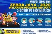 Awas, Selain Tilang Lalin, Operasi Zebra Jaya juga Tilang Masker