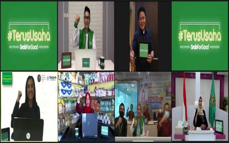 Peluncuran program Grab TerusUsaha untuk UMKM di Kota Palembang. istimewa
