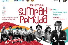 Angkasa Pura I Gelar Konser Virtual Sumpah Pemuda…