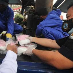 Satresnarkoba Polrestabes Surabaya Musnahkan Barang Bukti Narkotika