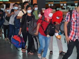 552 Pekerja Migran Ilegal Indonesia di Deportasi Dari Malaysia