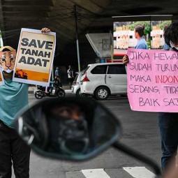 Aktivis Lingkungan Gelar Aksi Simpatik di Bandung