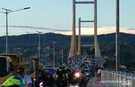 Ada Persiapan Rekayasa Lalin, Jembatan Kendari Ditutup Sementara