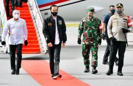 Presiden Jokowi Tinjau Proyek Lumbung Pangan di Sumatera Utara