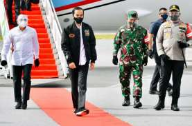 Presiden Jokowi Tinjau Proyek Lumbung Pangan di Sumatera…