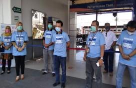 Satgas Bencana BUMN Sebar 10.000 Masker di Sumbar