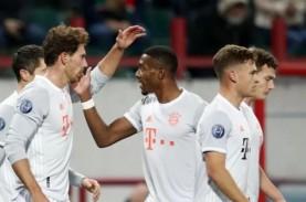 Hasil Liga Champions, Munchen Menang di Rusia, Inter…