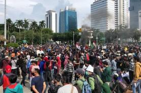 Hari Sumpah Pemuda, BEM SI dan GEBRAK Demo Tolak UU…