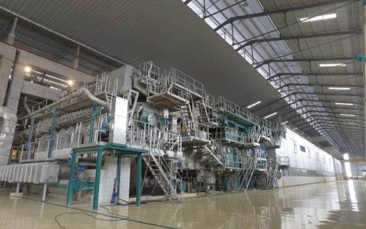 Fasilitas di pabrik kertas PT Fajar Surya Wisesa Tbk.  - fajarpaper.com