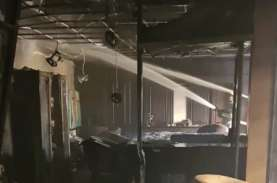 Satu Ruangan Gedung DPRD Kaltim Terbakar