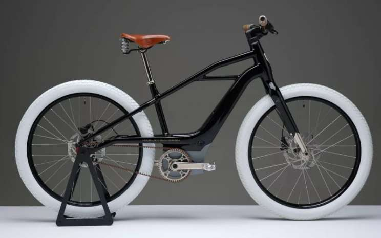 Sepeda listrik Harley Davidson. - istimewa