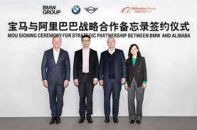 Pacu Transformasi Digital, BMW dan Alibaba Jalin Kemitraan…