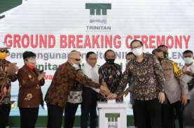 Hari Sumpah Pemuda, Trinitan Ground Breaking Smelter…