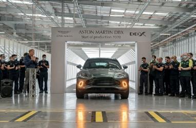 Beri Akses Teknologi, Mercedes Benz Dapat Saham Aston Martin
