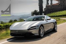 Ferrari Roma Sabet Car Design Award Majalah Auto &…