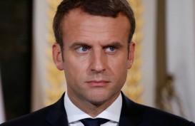 Presiden Macron Umumkan Prancis Lockdown untuk Redam Covid-19