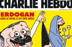 Inilah Karikatur Presiden Erdogan di Majalah Charlie…