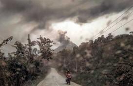 Tiga Kecamatan di Karo Terpapar Debu Vulkanik Gunung Sinabung