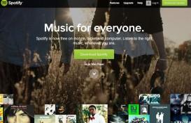 Wah! Pengguna Spotify Tembus 320 Juta