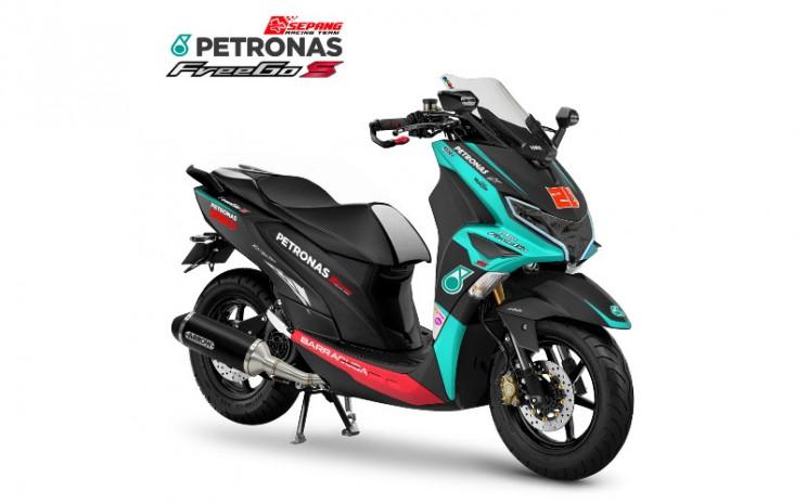 Pemenang Yamaha Digital Custom Generasi 125 dari Kategori FreeGo / Hari Sendie (Samarinda). Yamaha