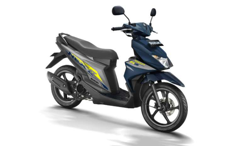 Suzuki NEX II menjadi pilihan yang tepat untuk gaya baru.  - Suzuki