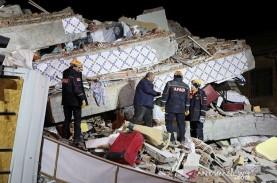 Gempa Bumi Landa Yunani dan Turki, 70 Orang Terperangkap…