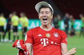 Cetak 10 Gol, Striker Bayern Munchen Lewandowski Top…