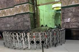 Sopir Penabrak Pintu Masjidil Haram Diduga Mabuk?