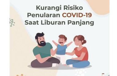 Tips Mengurangi Risiko Penularan Covid-19 Saat Liburan