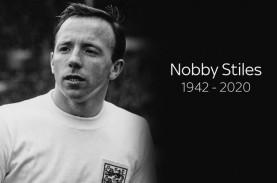 Nobby Stiles, Pemenang Piala Dunia 1966 untuk Inggris,…