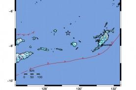 BMKG : Saumlaki Maluku Gempa Magnitudo 6,3