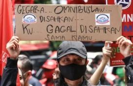 Besok, Ribuan Buruh Demo Tolak Omnibus Law dan UMP 2021