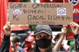 Besok, Ribuan Buruh Demo Tolak Omnibus Law dan UMP…