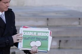 Macron: Karikatur Nabi Muhammad Bukan Proyek Pemerintah…