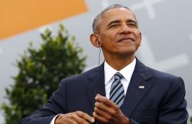 Pilpres AS: Reuni dengan Biden di Michigan, Obama Sindir Trump
