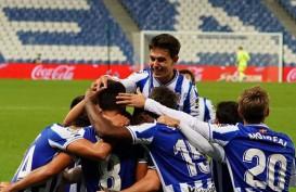 Hasil Liga Spanyol : Sociedad Kembali Kuasai Klasemen, Gusur Madrid