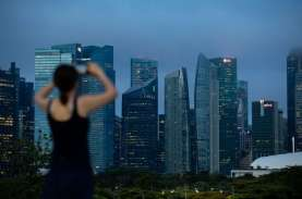 Tingkat Sewa Perkantoran di Singapura Anjlok Terbesar…
