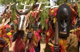 Suku Bertopeng Misterius Dogon, Penghuni di Gurun…