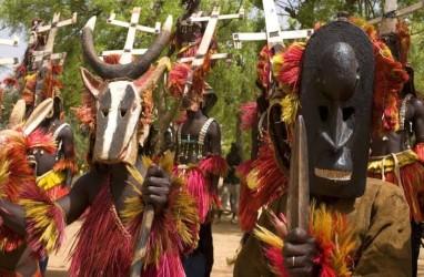 Suku Bertopeng Misterius Dogon, Penghuni di Gurun Sahara
