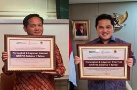 Net1 Indonesia Donasi Internet Gratis Dukung Percepatan…