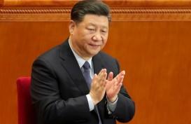 BUNTUT KONFLIK DAGANG DENGAN AS : Xi Serukan Rantai  Pasok yang Mandiri