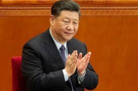 BUNTUT KONFLIK DAGANG DENGAN AS : Xi Serukan Rantai…