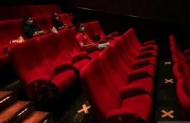 Terapkan Prokes Ketat : 3M, Bioskop di Makassar Boleh Buka