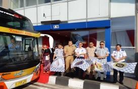 TERMINAL BUS TRANS-JAWA : Organda Usul Dekat Jalan Provinsi