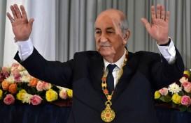 Presiden Aljazair Abdelmadjid Tebboune Positif Corona